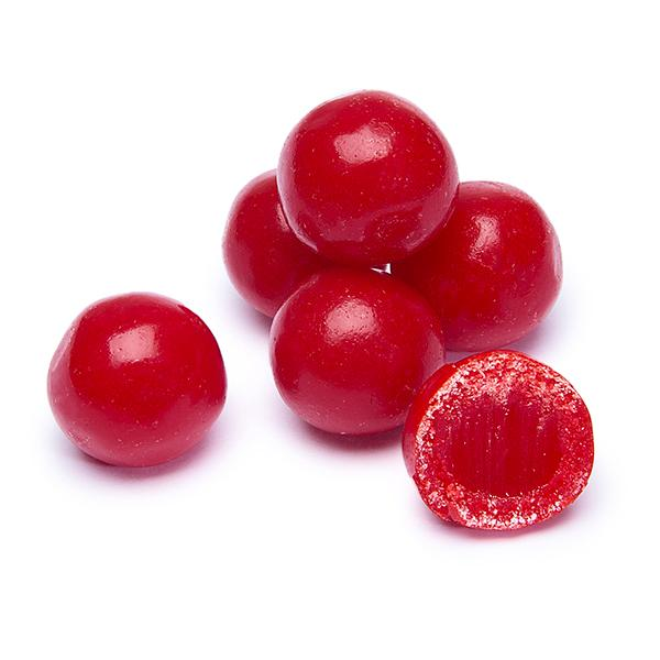 Jelly Belly Cherry Sours Candy Balls 10lb Case Candy Warehouse