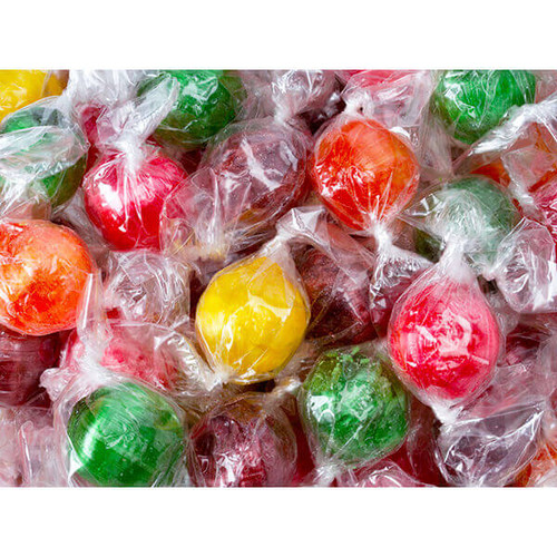 Sour Balls Assorted Fruit Hard Candy 5lb Bag Candy Warehouse