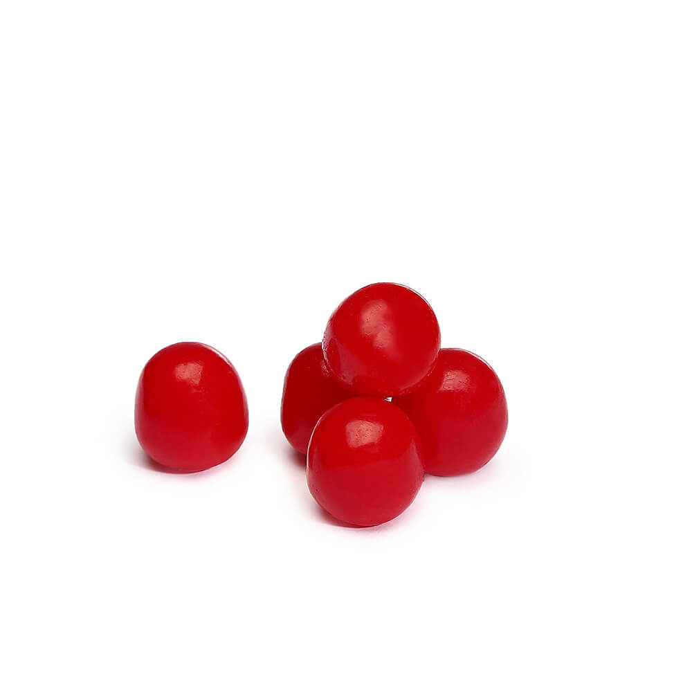 Chewy Sour Balls Cherry 7 Ounce Bag Candy Warehouse