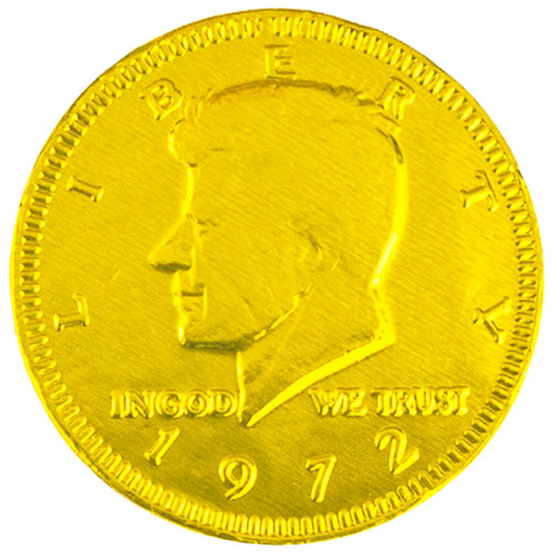 yellow nickel coin