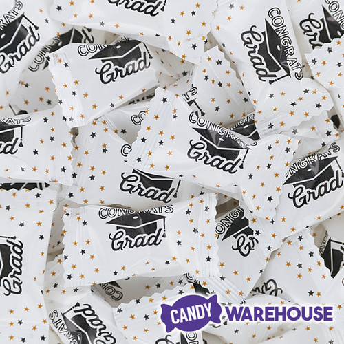 Graduation Wrapped Buttermint Creams 300 Piece Case Candy Warehouse