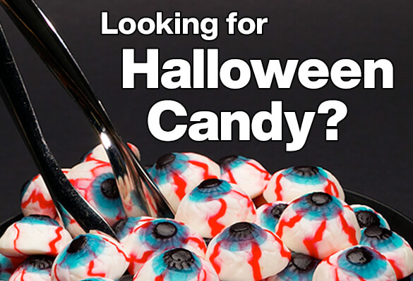 Candy Warehouse Halloween Candy