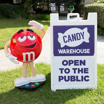 CandyWarehouse Candy Store in Long Beach CA - Open to the Public