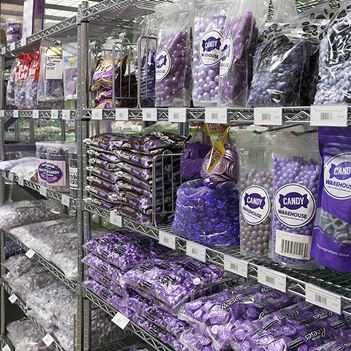 CandyWarehouse Store in Long Beach CA - Purple Candy